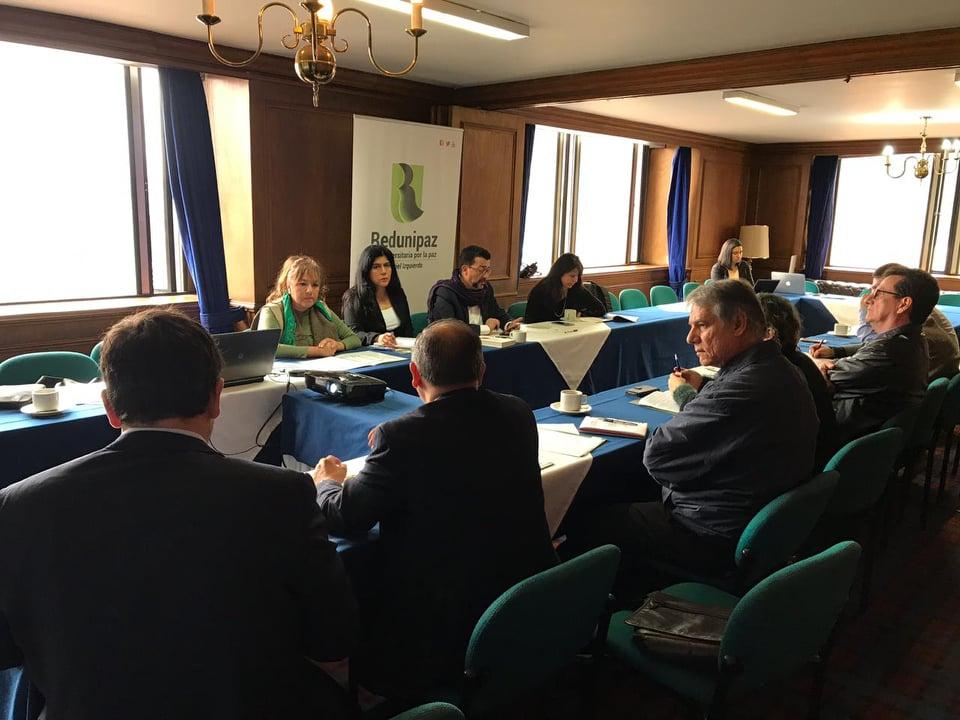 Reunión de integración y programación de Coordinadores de Nodos - Diciembre 2018