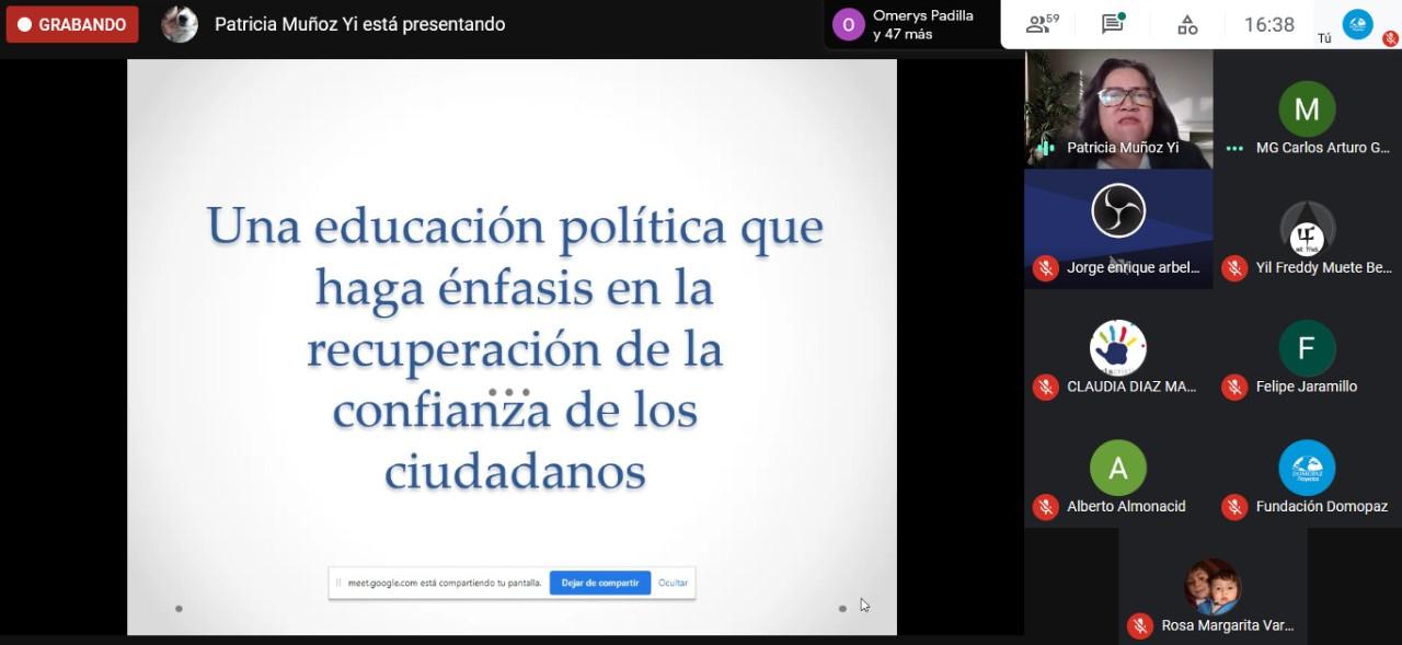 Noviembre y Diciembre - Qué tipo de educación política necesita Colombia para construir Paz